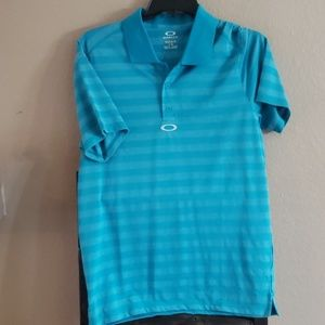 Oakley Large Turqious Polo